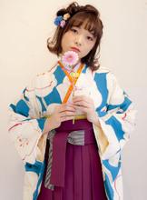 袴の着付とヘアセット|Raffine三宮のヘアスタイル