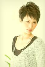 クールな感じの大人ショート☆|Hair&Beauty B's amor 尾張旭店 のヘアスタイル
