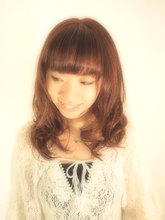 ちょい甘・チークカール|PACE hair make color 今福本店のヘアスタイル