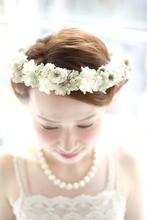 外国人花嫁風アレンジ*|quadrille citronnier のヘアスタイル