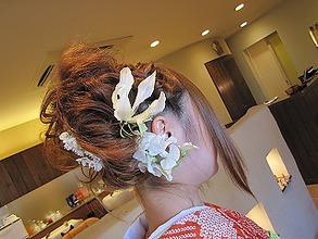 成人式アップ|Cittaのヘアスタイル