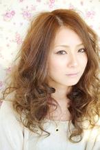 ふわふわウェーブ|CREAM 上田市材木町店のヘアスタイル