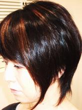 モードボブスタイル|CUT LINEのヘアスタイル