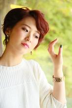 あまんの恋 14TH Loveは、いきものふれあいセンター・倉治公園にてMiyuさんに参加して頂きました〜|Cut wa Coconi (交野市美容室・美容院)のヘアスタイル
