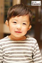 かわいいお子様カット〜めっちゃ、可愛い男の子です。|Cut wa Coconi (交野市美容室・美容院)のヘアスタイル