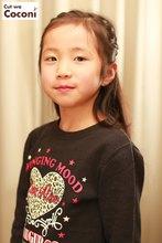 かわいいお子様カット〜綺麗にカットしてタイトロープでヘアアレンジ!!!|Cut wa Coconi (交野市美容室・美容院)のヘアスタイル