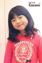 かわいいお子様カット!可愛くコテで、ゆる巻き〜|Cut wa Coconi (交野市美容室・美容院)のヘアスタイル