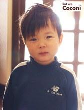 かわいいお子様カット〜かわいいイケメンの男の子が、来てくれました!!!|Cut wa Coconi (交野市美容室・美容院)のキッズヘアスタイル