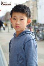 かわいいお子様カット〜さわやかなイケメンの男の子が、来てくれました!!!|Cut wa Coconi (交野市美容室・美容院)のヘアスタイル