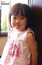 かわいいお子様カット!お利口さんでカット〜ボブスタイル☆|Cut wa Coconi (交野市美容室・美容院)のヘアスタイル