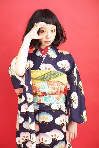 卒業式 髪型 ロング 袴