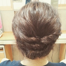 簡単ねじりアップ|Deja−Vuのヘアスタイル