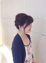 浴衣が似合う夏ヘアセット|Deja−Vuのヘアスタイル