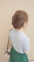 ボブstyleの編み込みセット|Deja−Vuのヘアスタイル
