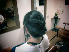 かんたんヘアアレンジ♪|eternity hairのヘアスタイル