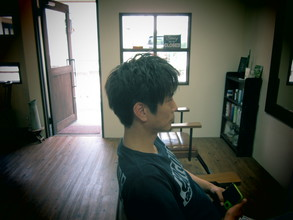 カジュアルにワックススタイル|eternity hairのメンズヘアスタイル