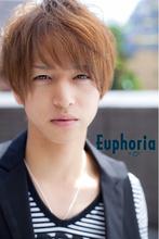男性必見!前下がりショート、ミディアムスタイル|Euphoria +e【ユーフォリア・イー】60階通り店のメンズヘアスタイル