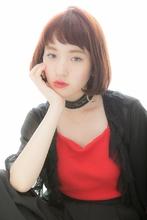 小顔なラフボブスタイル|Euphoria GINZA GRANDEのヘアスタイル