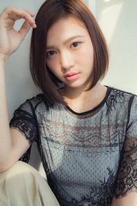 【Euphoria銀座本店】ラインのきれいな前下がりボブ☆
