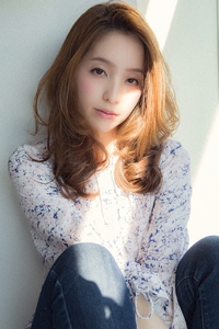 【Euphoria銀座本店】ワンサイドでフェミニン♪大人ロングby斎藤