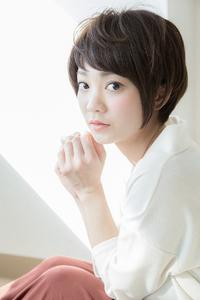 【Euphoria銀座本店】ナチュラル小顔ショート