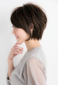 【Euphoria銀座本店】大人小顔ショート