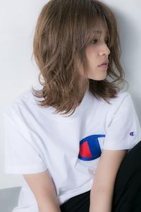 【Euphoria】ハネがアクセント♪シースルー☆グロッシーロブ
