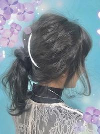 【Euphoria】arengeは顔まわりの髪もこだわっております!