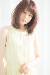 【Euphoria】カラーでフェミニンな透明感♪ストロベリーアイス☆