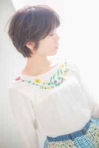 【Euphoria】天使の横顔♪美シルエットショート☆