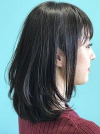 【EuphoriaHARAJUKU】モーブグレージュ×レイヤーロブ☆ 担当森