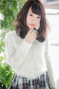 【Euphoria】ふわり優しげな☆内巻きで作るカールレイヤー