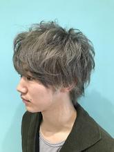 【EuphoriaHARAJUKU】Men's☆シルバーアッシュ 担当宍戸|Euphoria HARAJUKUのメンズヘアスタイル