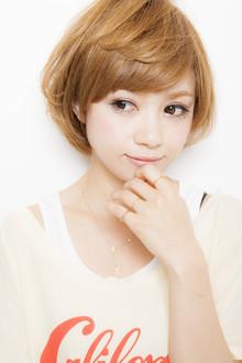 小顔ナチュラルショートボブ☆|Euphoria SHIBUYA GRANDEのヘアスタイル