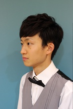 初夏に向けて、フワ軽マッシュ風ショートヘア|Felice hair&careのメンズヘアスタイル