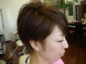 ショート|atelier Fish&Flower 箱作本店のヘアスタイル