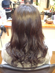 毛先に大きなカール☆!!|フレンド美容室のヘアスタイル