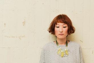 ウェービーなショートボブ|green yuhigaokaのヘアスタイル