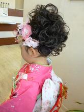 七五三女の子|Hair Design ECRUのキッズヘアスタイル