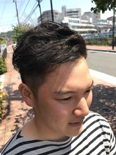 爽やかツーブロックスタイル|hair Shantii 河内国分店のメンズヘアスタイル