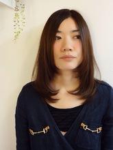 ナチュラル☆ストレート|HACHIのヘアスタイル