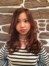 デジタルパーマで楽チンヘア★ brick hair+relaxationのヘアスタイル