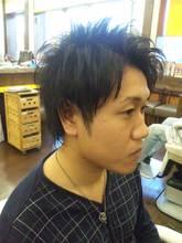 何もつけなくても動きまくります(^^)|HAIR MAKE FEEL 本店のメンズヘアスタイル