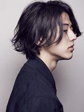 ミディアムパーマヘア|S.のメンズヘアスタイル