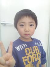 元気いっぱい!学校でも人気者だよ!|hausa./京急線金沢八景のヘアスタイル