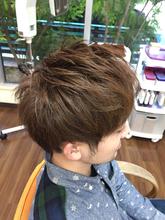 爽やか2ブロックスタイル|Hair Collection MOVEのメンズヘアスタイル
