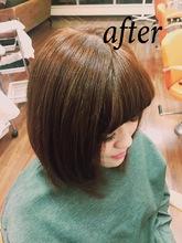 明るめ春カラー|Hair Collection MOVEのヘアスタイル
