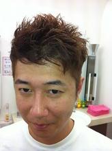 スーツ着てても合うよん!|肌ケアヘアサロンCUT PLAZA HOSOMIのメンズヘアスタイル