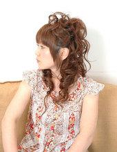 ウエーブ&カール Hair Salon LiNのヘアスタイル