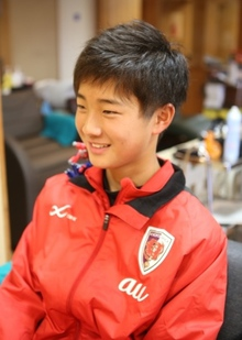 ikemenサッカー少年!!|hair stage O2 紫野店のヘアスタイル